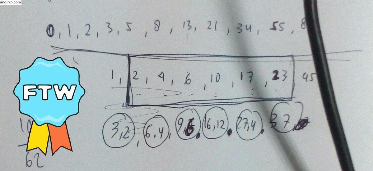 """deret fibonacci andirkh"""